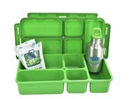 Green Go Green Lunch Box