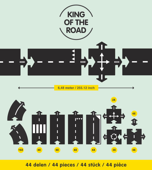 Grimm's King of the Road 40 pcs