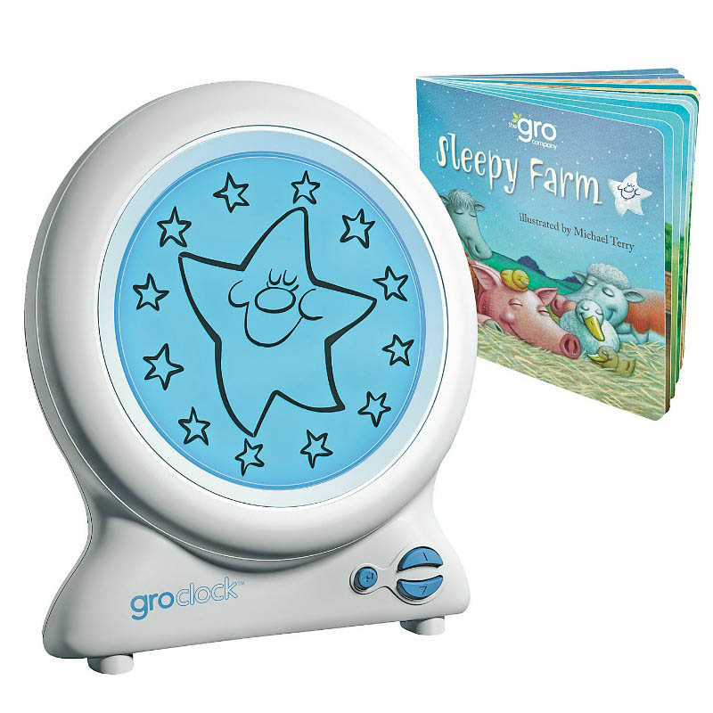 Gro Clock Sleep Trainer with free storybook