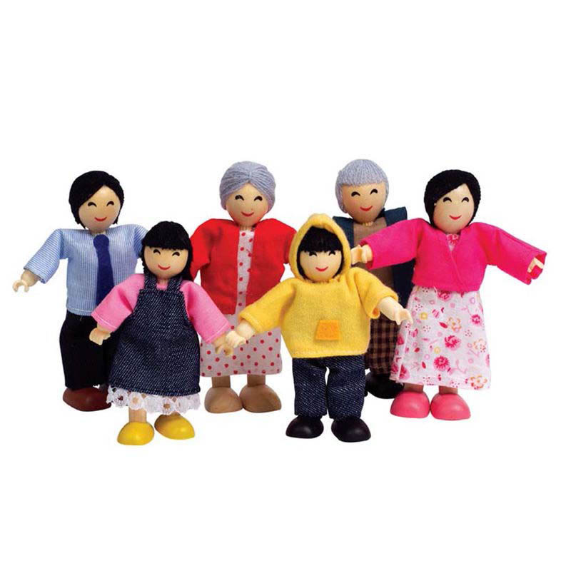 Hape Asain Family Set of 6