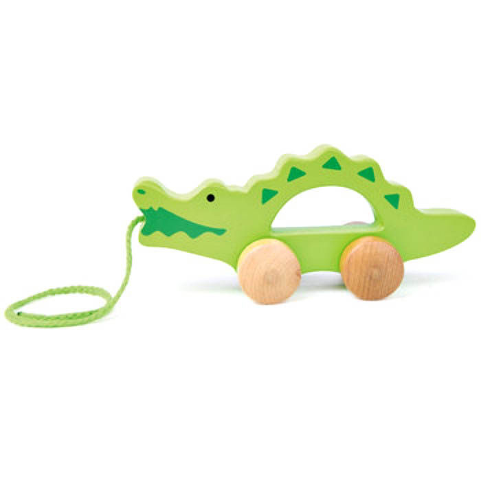 Hape Push and Pull Crocodile
