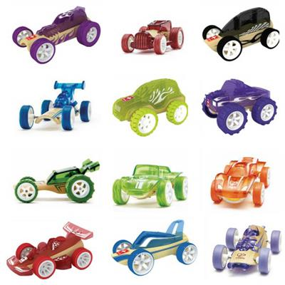 Hape Bamboo Mini Vehicles
