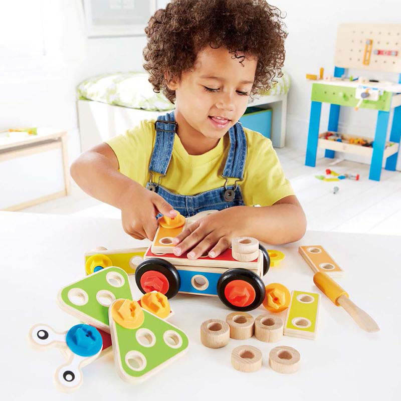 Hape Basic Builder Set 42 Piece
