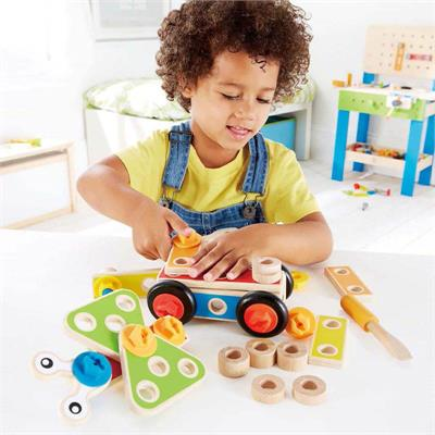 Hape Basic Builder Tool Set 42 Piece