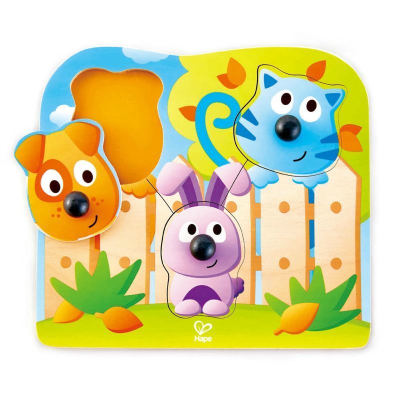 Hape Big Nose Pet Peg Puzzle