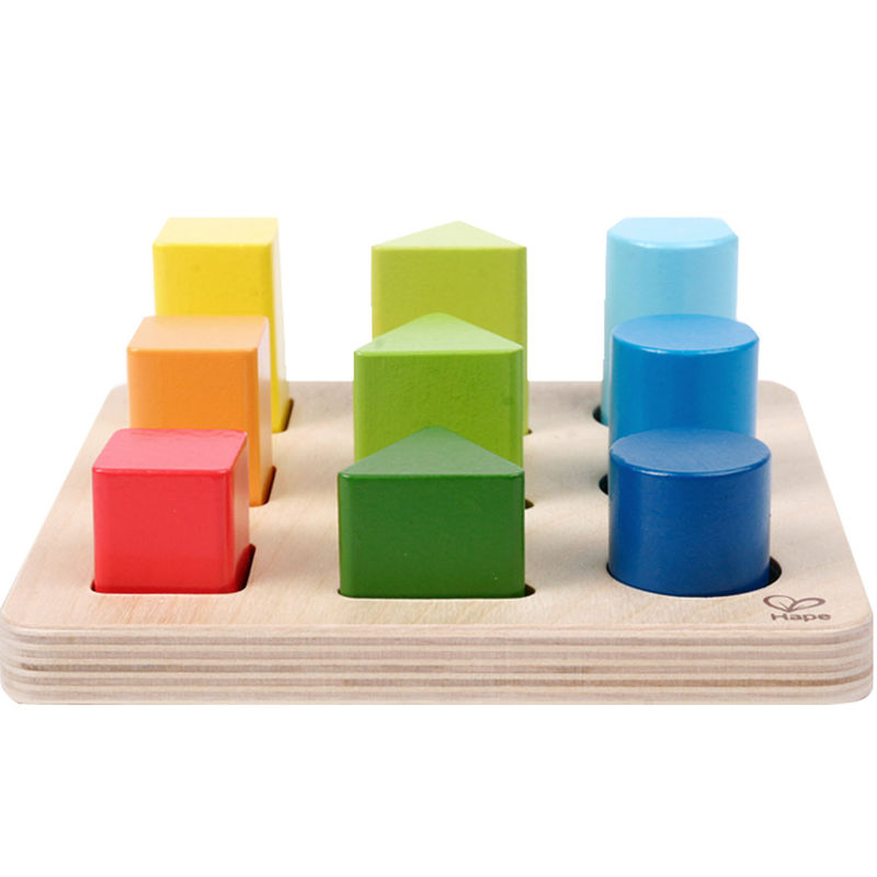 Hape Colour and Shape Sorter Puzzle