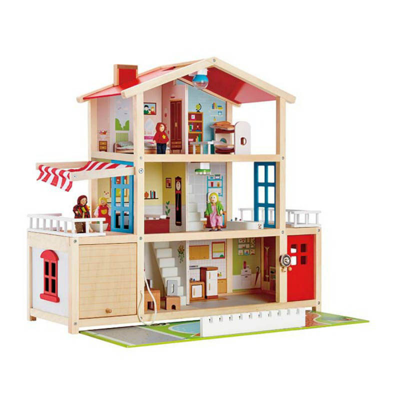 Hape - Doll Family Mansion