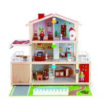 Hape - Doll Family Mansion - everything in image is included