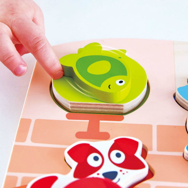 Hape Dynamic Pet Puzzle
