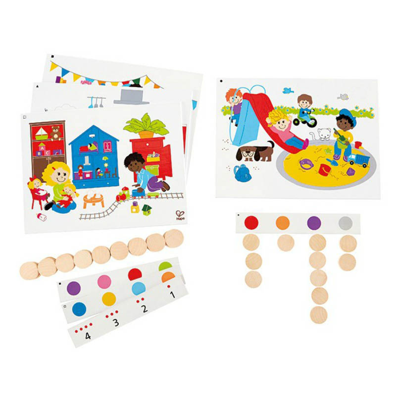 Hape - Find and Count Colours Game