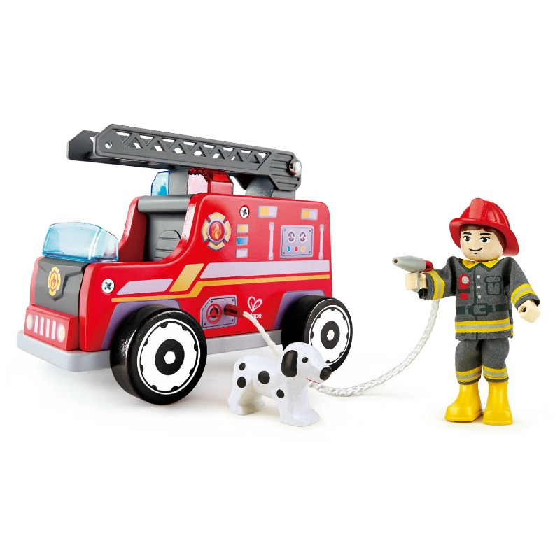 Hape Fire Truck Rescue Team