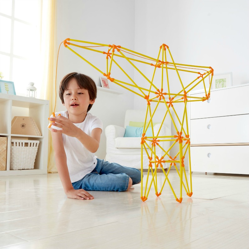 Hape Flexistix Truss Crane Set