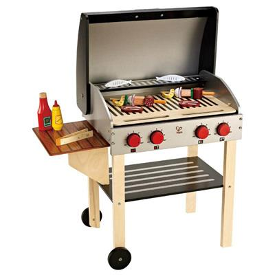 Hape Gourmet Grill with Food