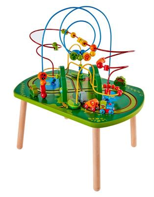 Hape Jungle Play and Train Activity Table