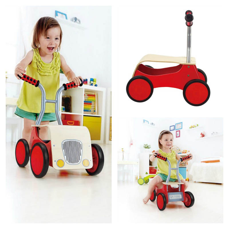 Hape Little Red Rider and Walker