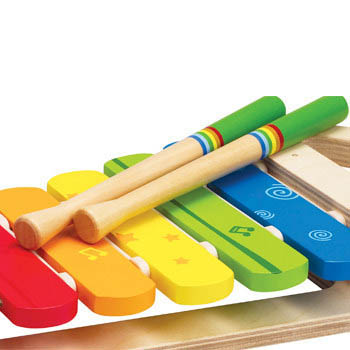 Hape-Musical Toys- Early Melodies Rainbow Xylophone