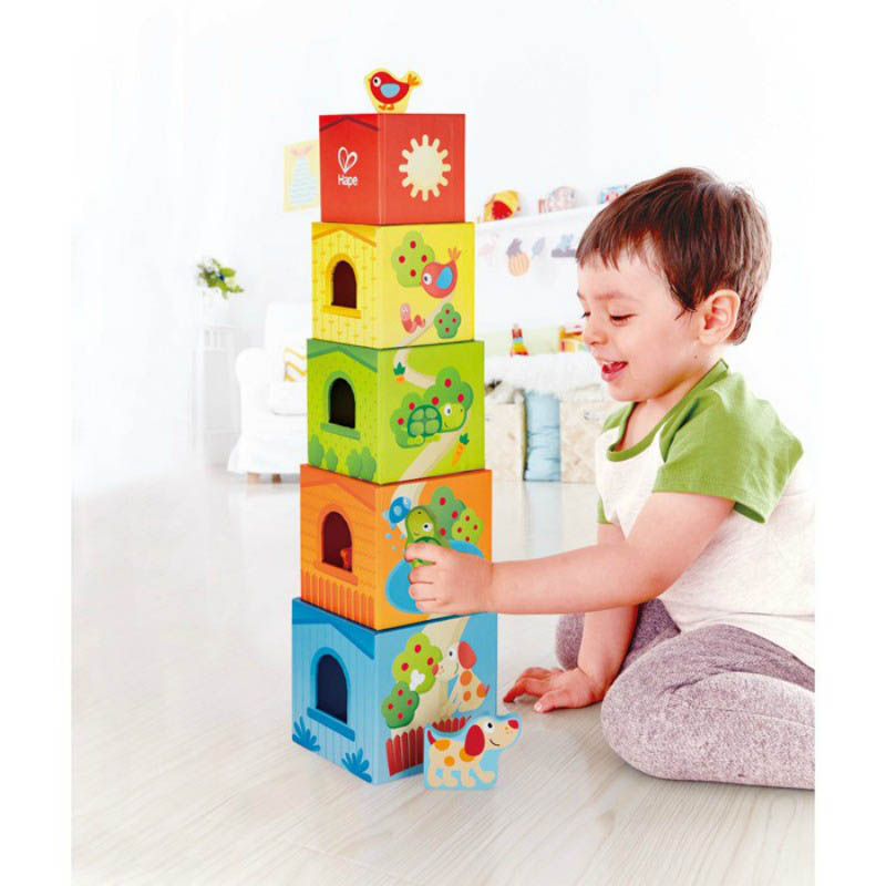 Hape - Pepe & Friends Friendship Tower