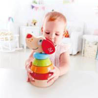 Hape Pepe Rainbow Sound Stacker