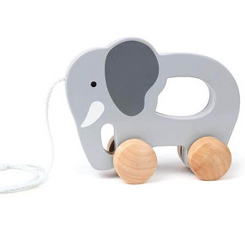 Hape Push And Pull Elephant