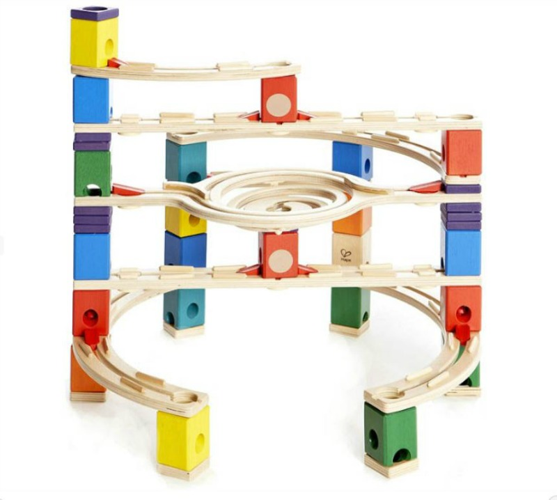 Hape Quadrilla Loop De Loop Marble Run