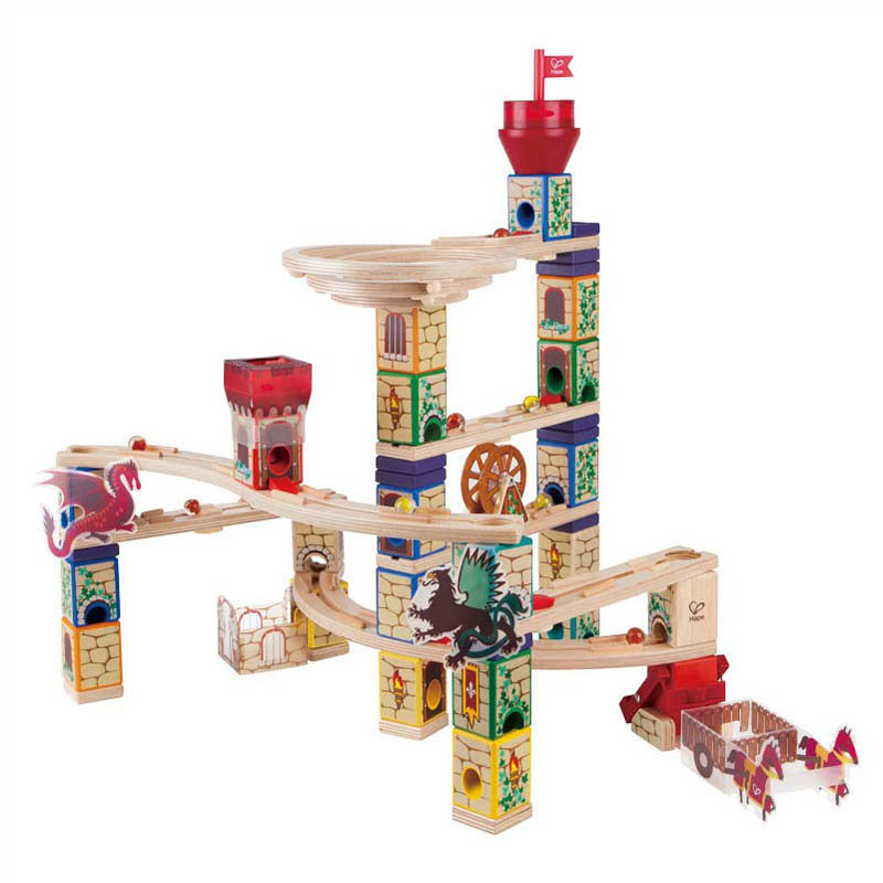 Hape - Quadrilla Medieval Quest Marble Run