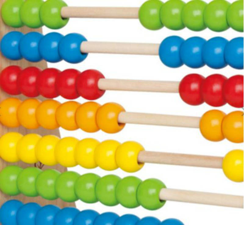 Hape-Rainbow Beads Abacus