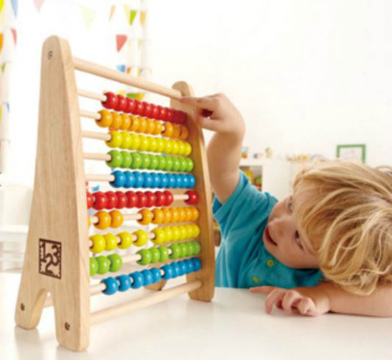 Hape Rainbow Beads Abacus