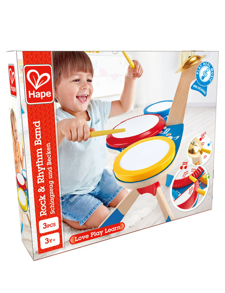 Hape Drum and Cymbol Set