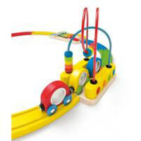 Hape - Sights and Sounds Railway Set