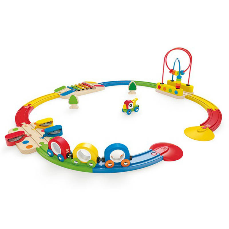 Hape Sights and Sounds Railway Train Set