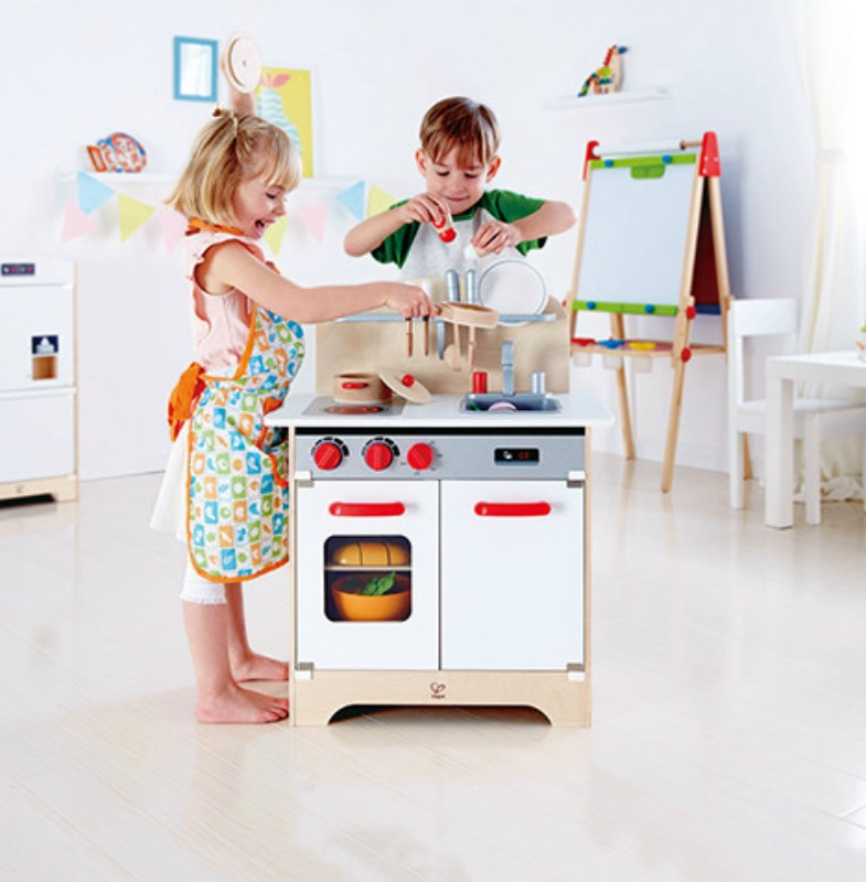 Hape White Gourmet Kitchen (accessories sold separately)