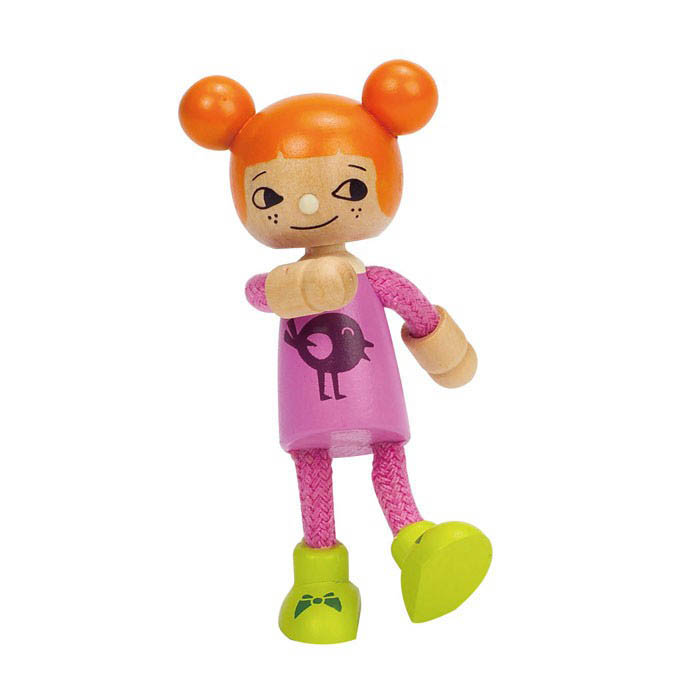 Hape-Wooden Dolls for Kids-Younger Daughter