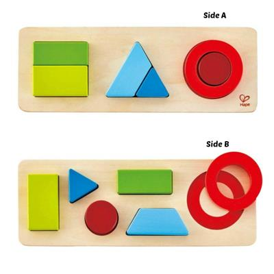 Hape Wooden Geometry Puzzle