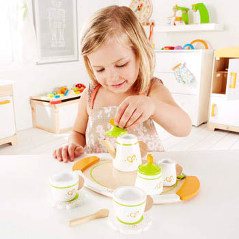 Cute Wooden Tea Party Toys