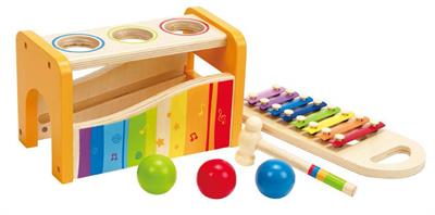 Hape Pound and Tap Musical Bench