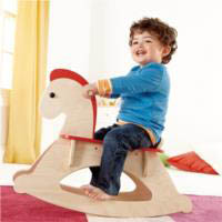 Wooden Rocking Horse for Kids