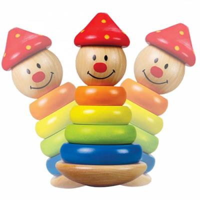 Hape Stack and Swivel Clown