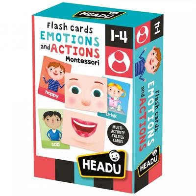 Headu Emotions and Actions Flashcards