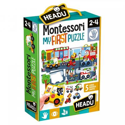 Headu Montessori First Puzzle The City