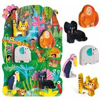 Headu Montessori First Puzzle The Jungle