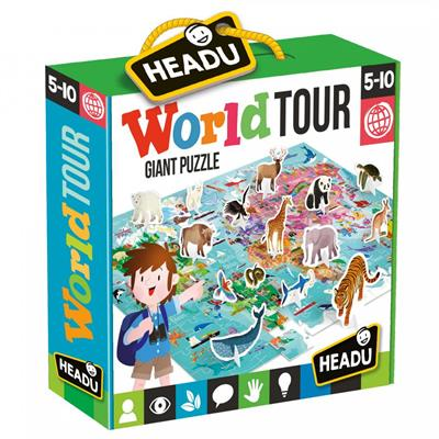 Headu World Tour Puzzle