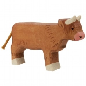 Holztiger Wooden Highland Cattle