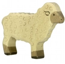 Holztiger Wooden Sheep Play Figurine