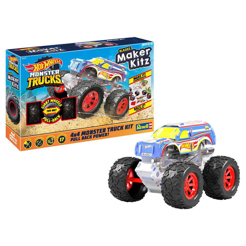 Hot Wheels Monster Truck Maker Kitz