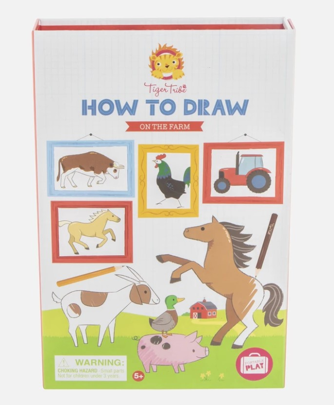 How To Draw – On the Farm