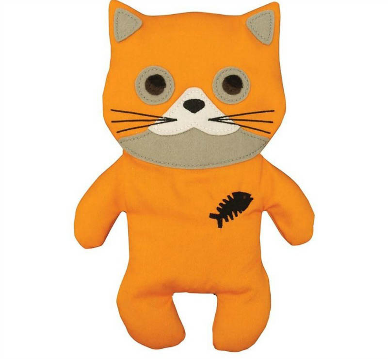 Huggable Orange Cat Heat Pack