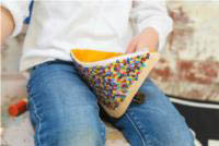 Iconic Sequin Purse - Fairybread