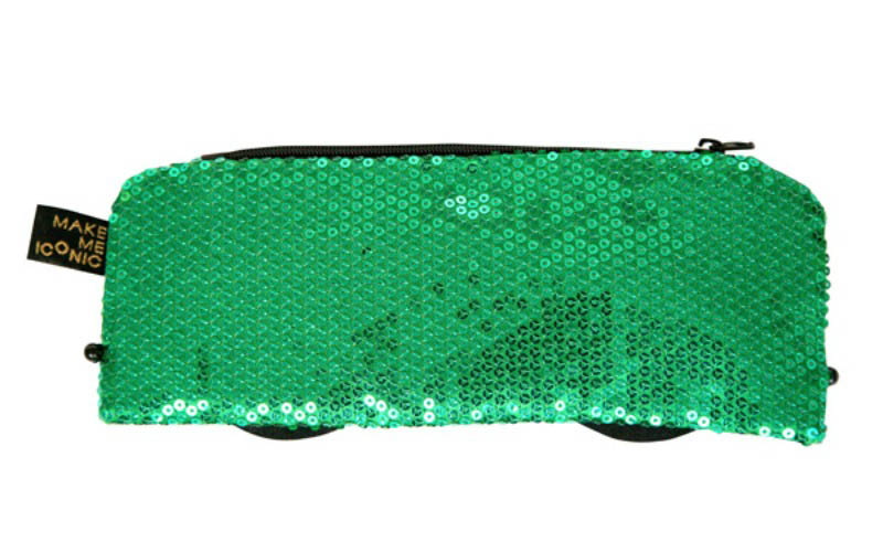 Iconic Sequin Purse - Rumble (reverse side)