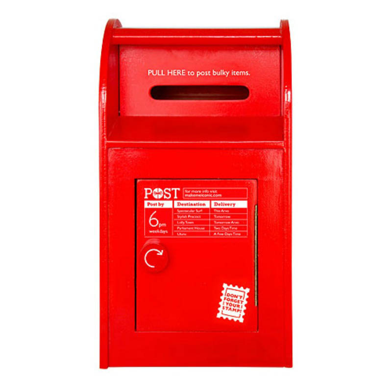 Make Me Iconic Toy Australia Post Box