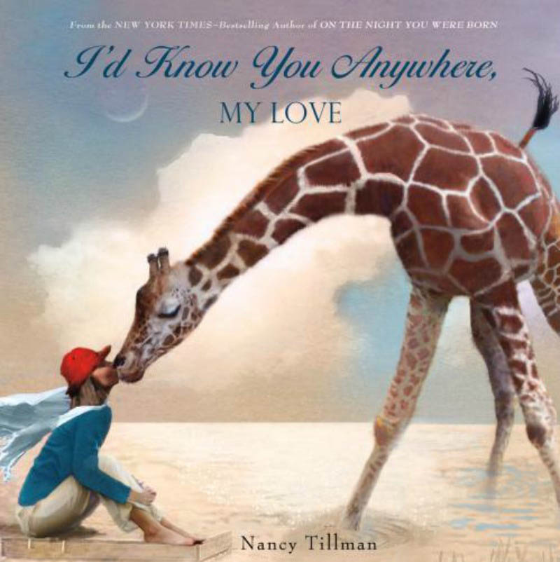 I'd Know You Anywhere, My Love Board Book